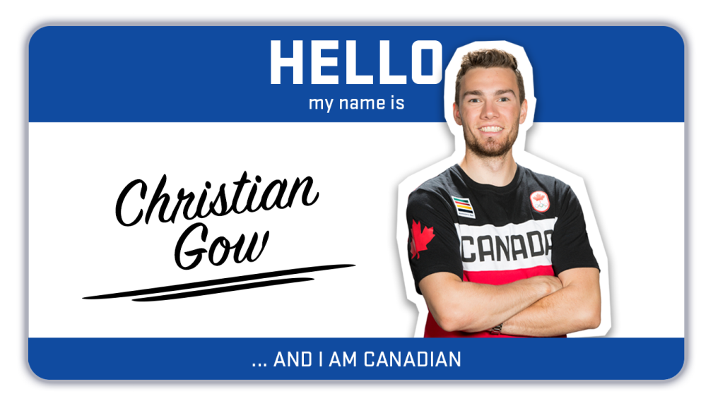 Hi, my name is Christian Gow and I'm a biathlete