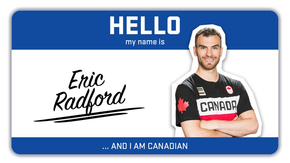 Hi, my name is Eric Radford and I skate