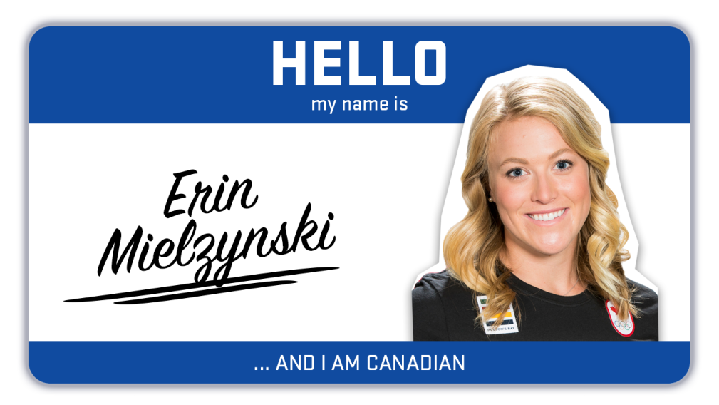 Hi, my name is Erin Mielzynski and I ski