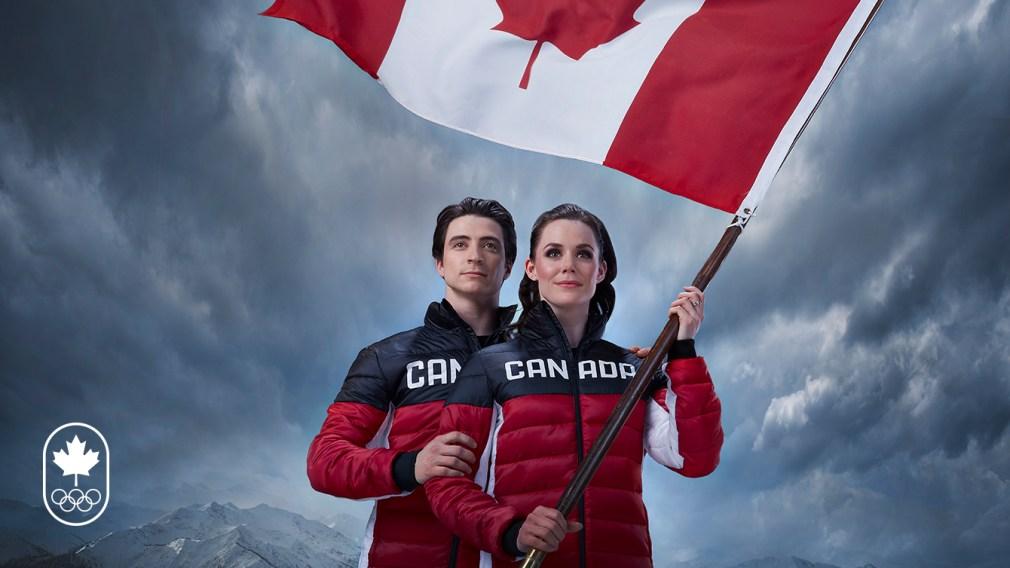 Virtue & Moir to lead Team Canada as PyeongChang 2018 flag bearers