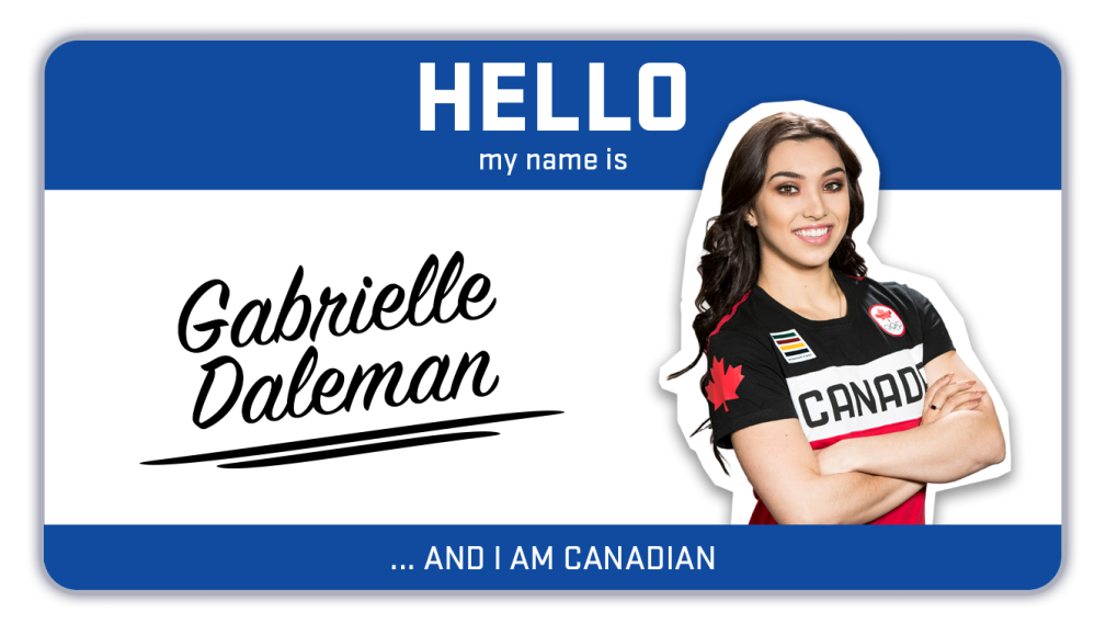 Hi, my name is Gabrielle Daleman and I'm a figure skater