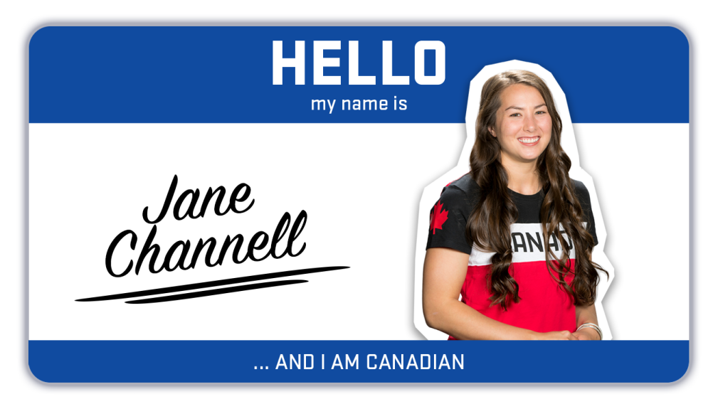 Hi, my name is Jane Channell and I race skeleton