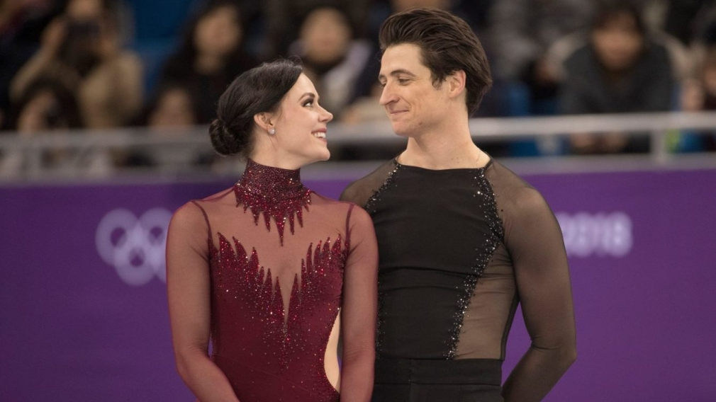 All the emotion at the right time for golden Virtue and Moir