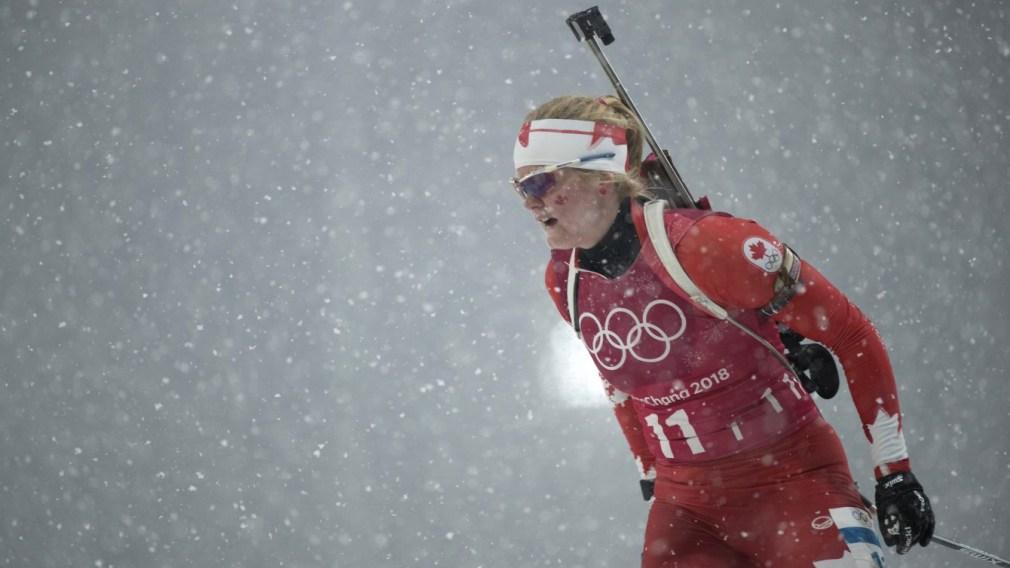 Team Canada Sarah Beaudry PyeongChang 2018