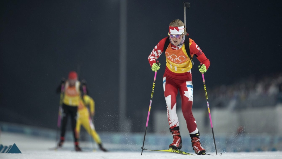 Team Canada Emma Lunder PyeongChang 2018
