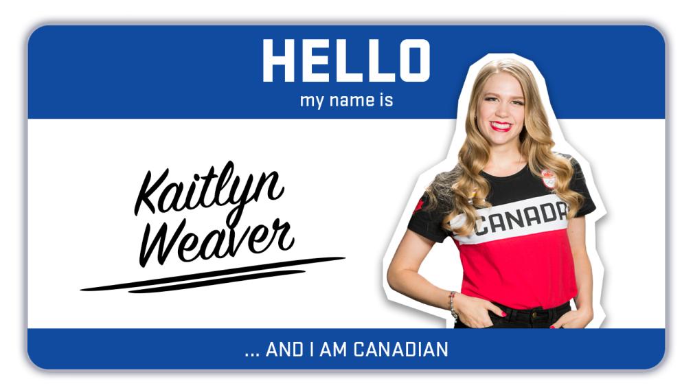 Hi, my name is Kaitlyn Weaver and I skate