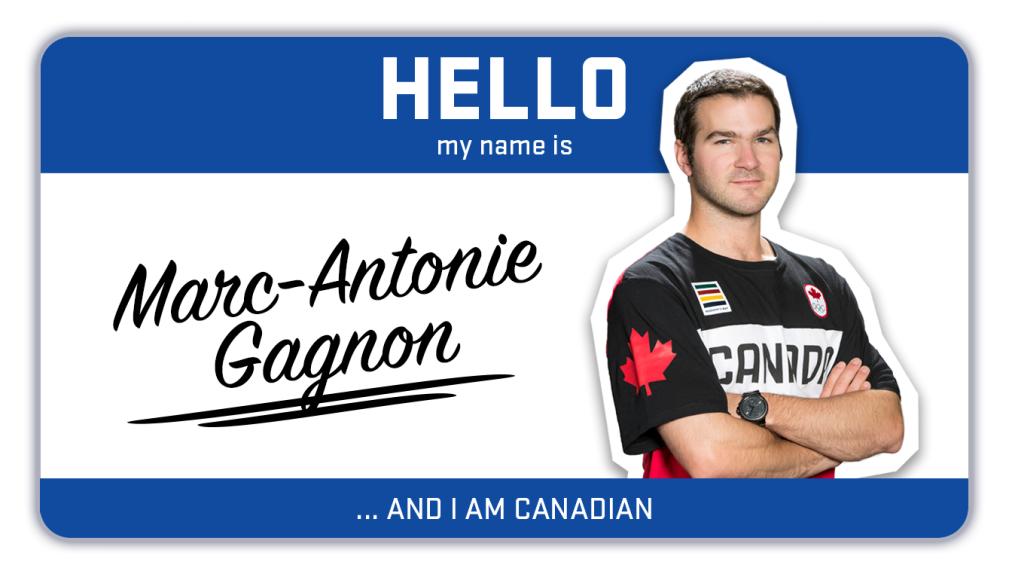 Hi, my name is Marc-Antoine Gagnon and I ski
