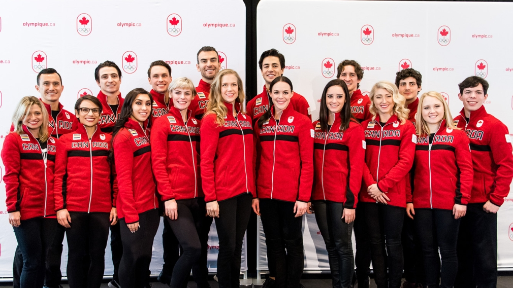 Canadian figure skating team named for  PyeongChang 2018