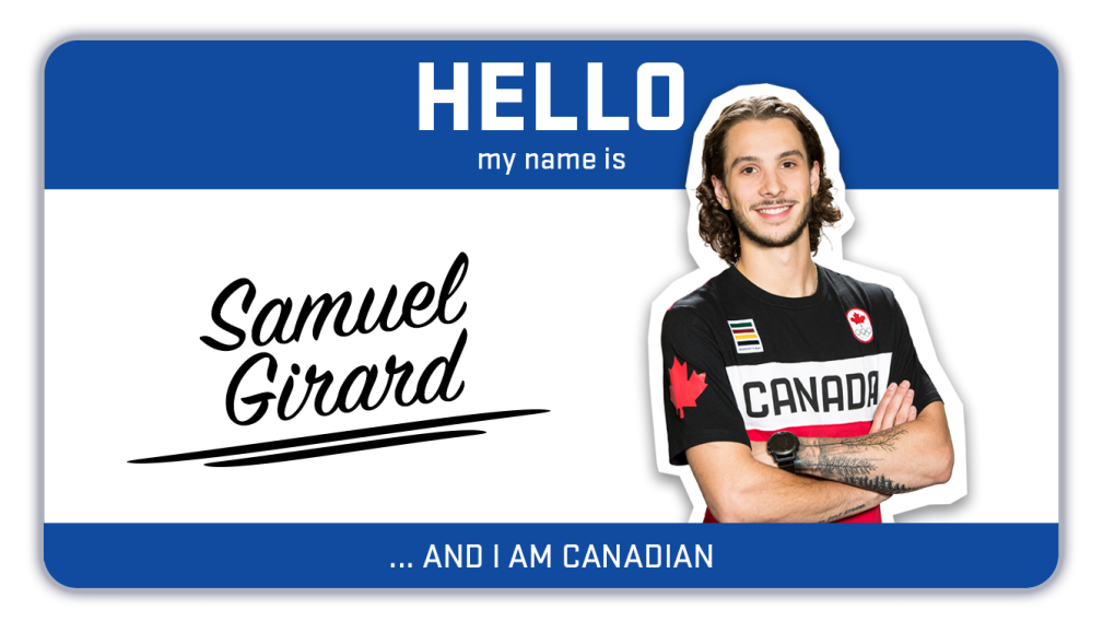 Hi, my name is Samuel Girard and I skate