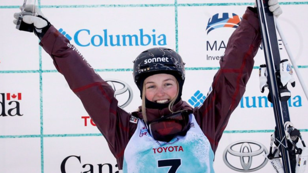 Three podiums for Team Canada at freestyle skiing world cup in Quebec
