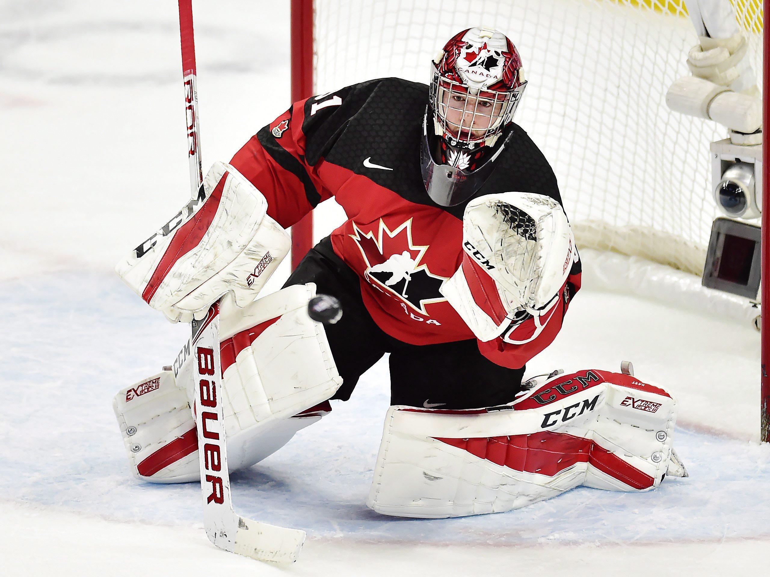 Team Canada Carter Hart