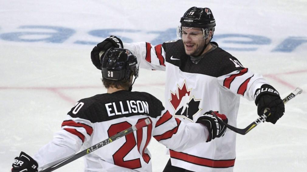 Team Canada Gilbert Brule