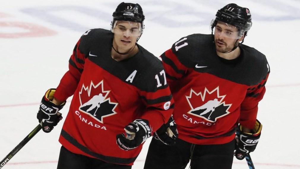 Team Canada Rene Bourque