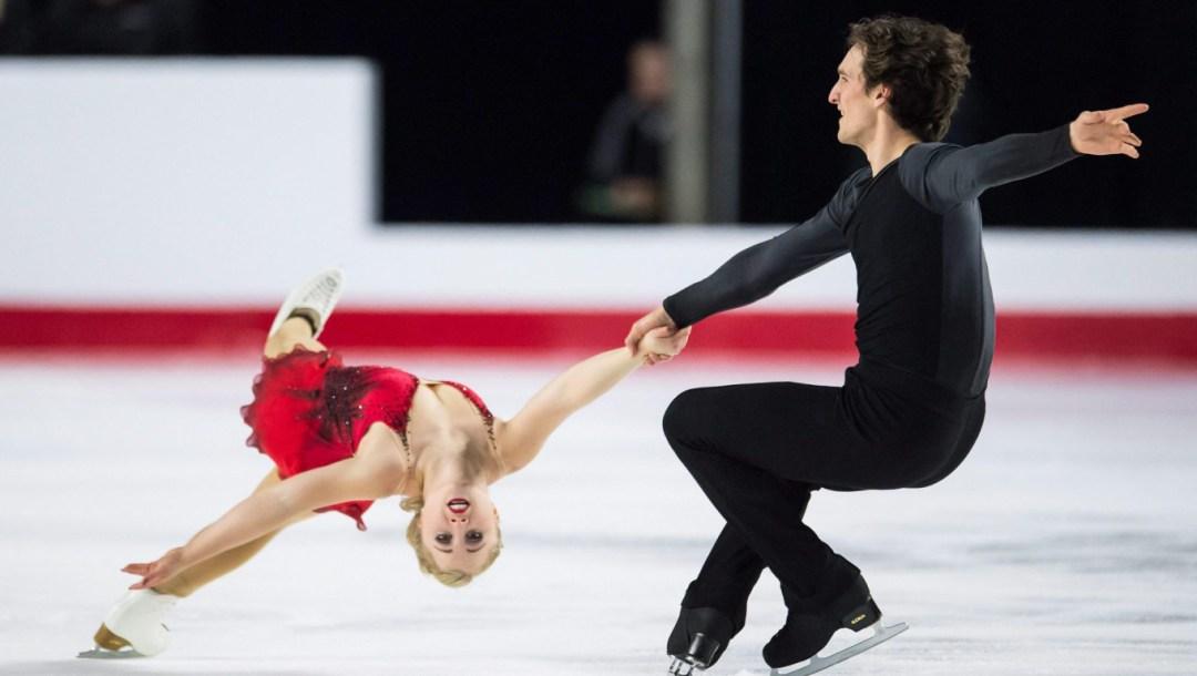 Team Canada Julianne Seguin, Charlie Bilodeau