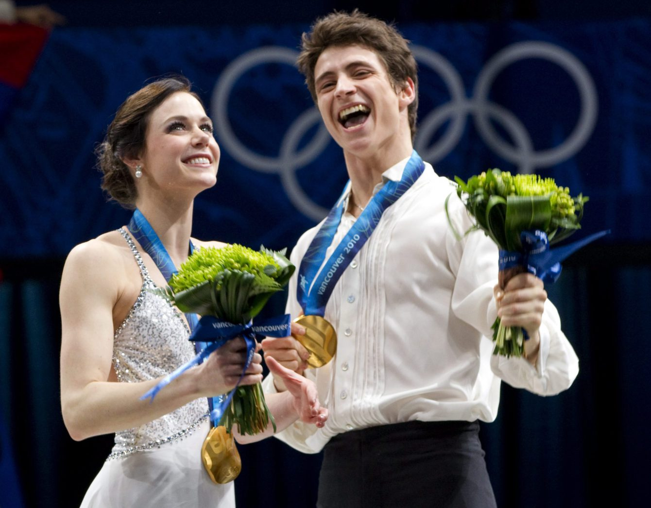 Team Canada Tessa Virtue, Scott Moir Vancouver 2010