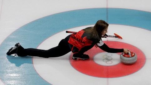 Team Canada Rachel Homan PyeongChang 2018