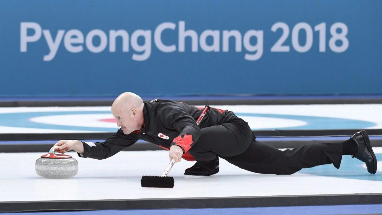 Team Canada Kevin Koe PyeongChang 2018