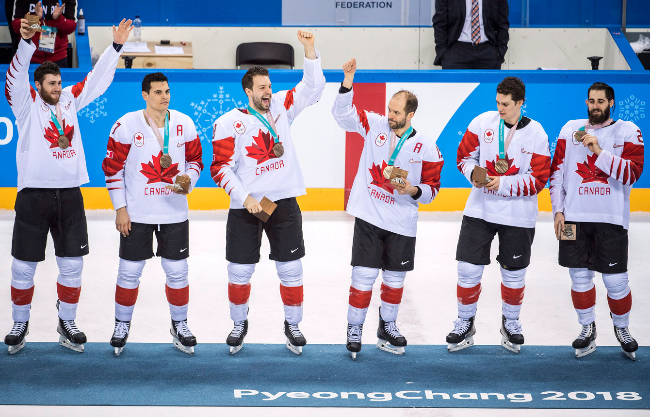 Team Canada PyeongChang 2018 Men's Hockey