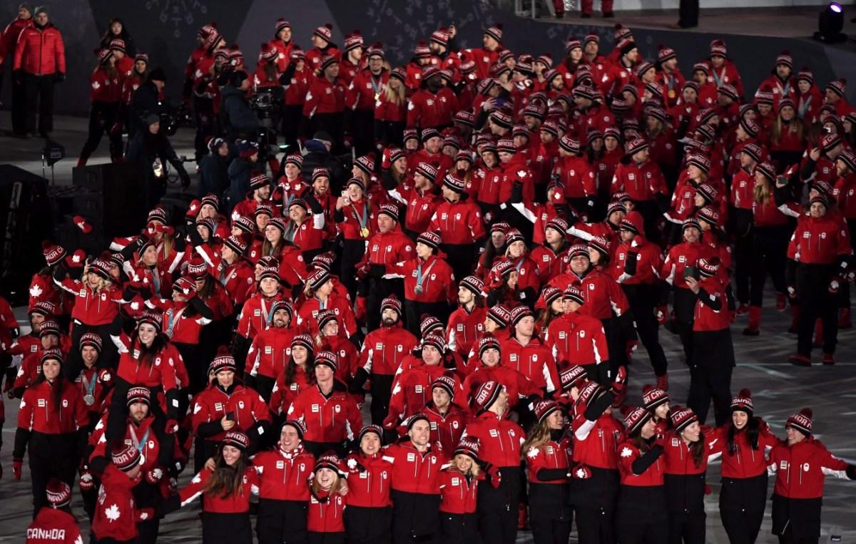 Team Canada PyeongChang 2018