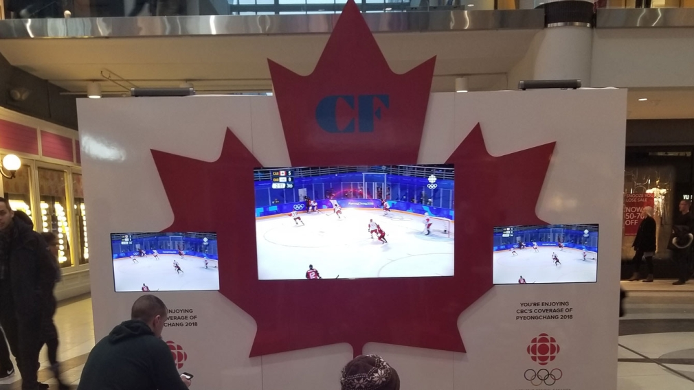 Cadillac Fairview Olympic Lounges
