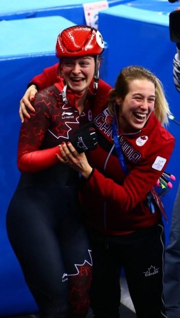 Team Canada Kim Boutin Marianne St-Gelais PyeongChang 2018