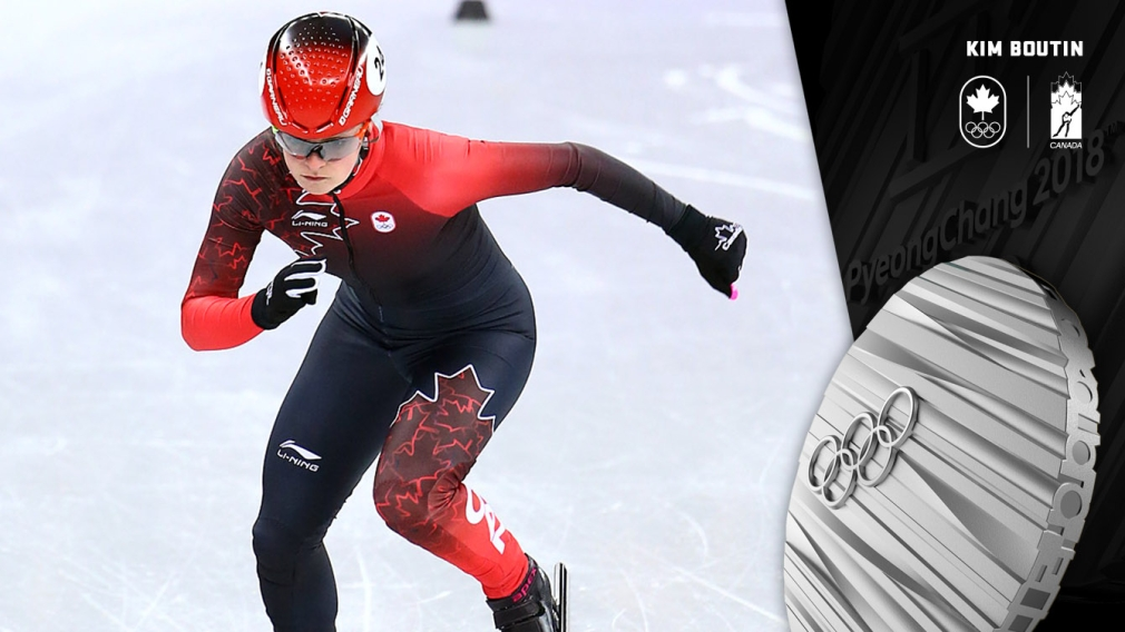 Boutin wins 1000m silver for third medal of PyeongChang 2018