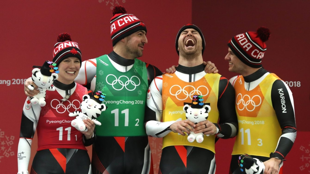 Silver medal win full of redemption for Canadian luge relay team