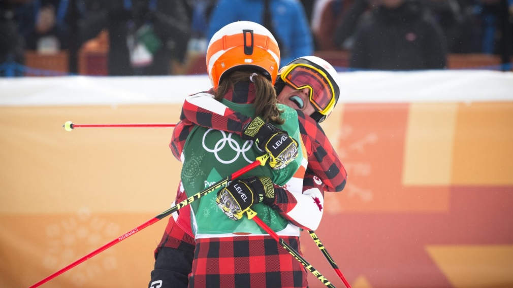 Team Canada supporting one another at PyeongChang 2018