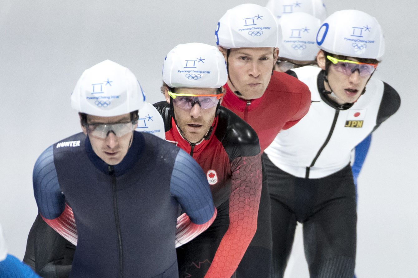 Team Canada Olivier Jean PyeongChang 2018