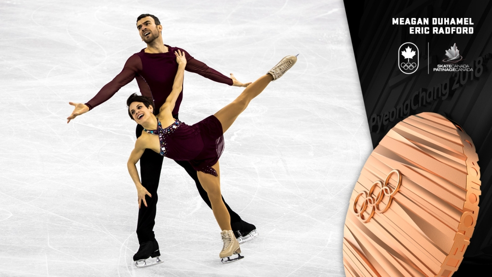 Duhamel & Radford win pairs bronze in PyeongChang