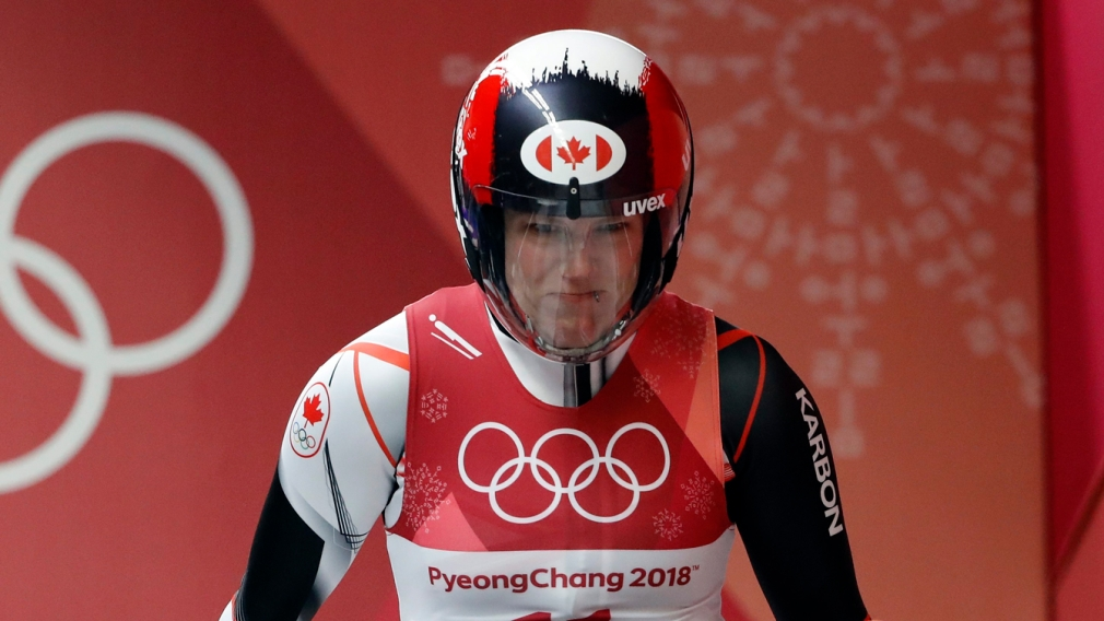In third after two runs, Gough glides for that elusive Olympic luge medal