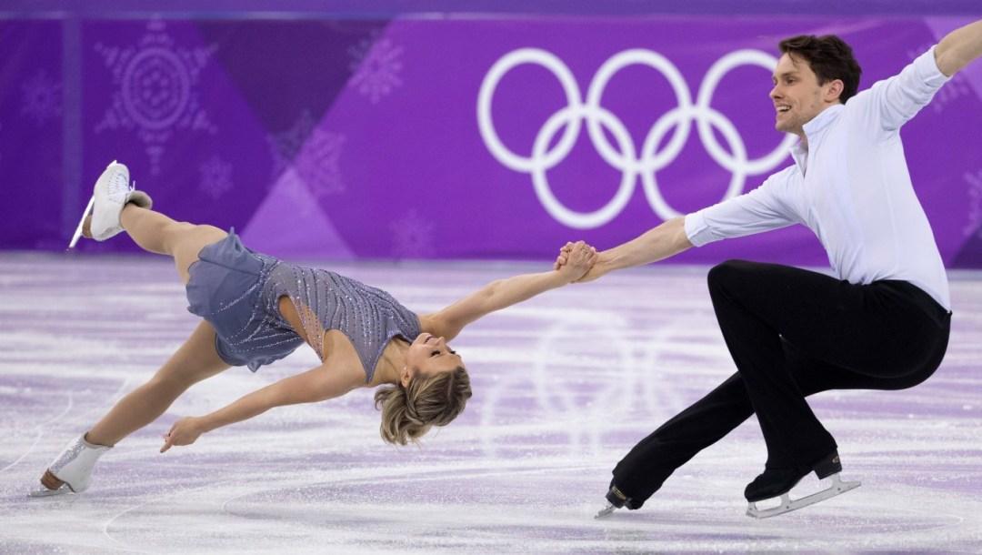 Team Canada Michael Marinaro Kirsten Moore Towers PyeongChang 2018