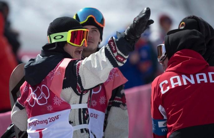 Team Canada Sebastien Toutant Mark McMorris PyeongChang 2018