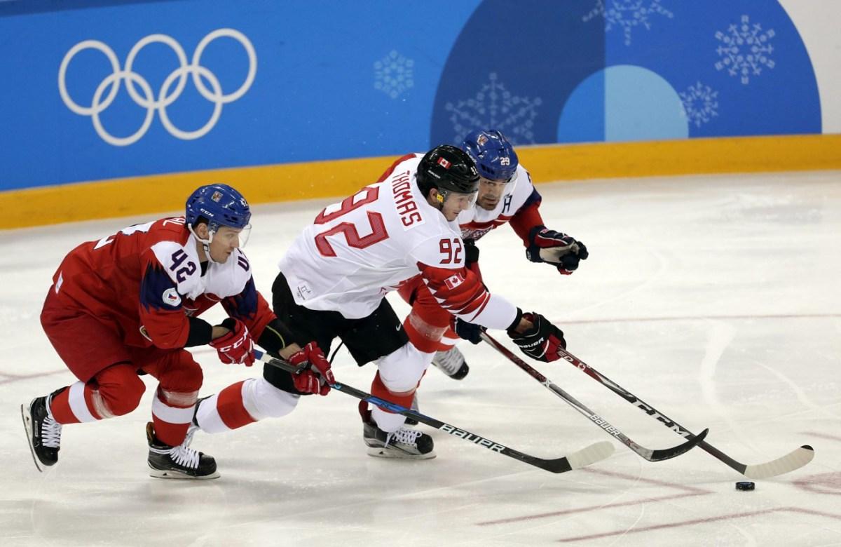 Team Canada Christian Thomas PyeongChang 2018