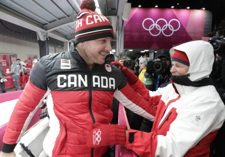 Team Canada Justin Kripps PyeongChang 2018