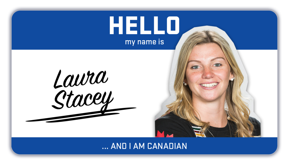 Hi, my name is Laura Stacey and I play hockey