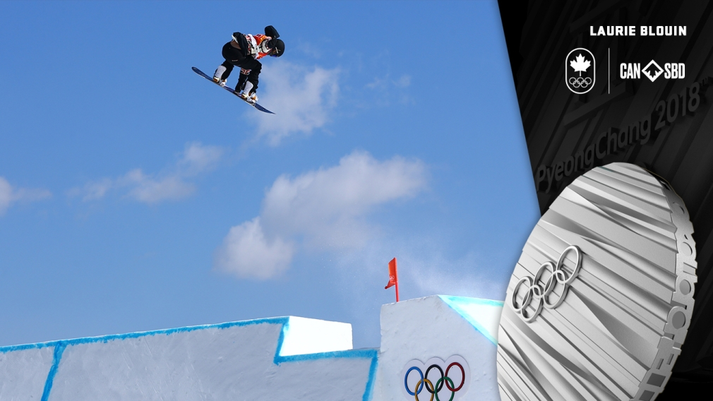 Laurie Blouin grabs women's slopestyle snowboard silver