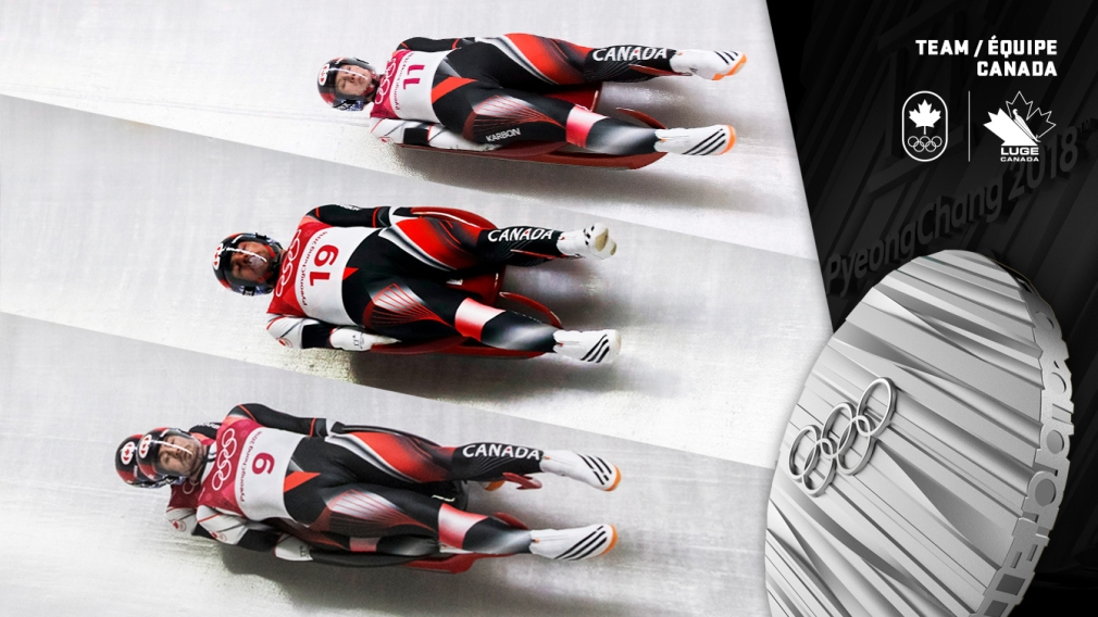 Team Canada captures silver in luge team relay