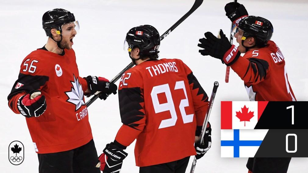 Canada moves on to PyeongChang 2018 men's hockey semifinals