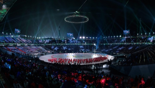 Team Canada PyeongChang 2018 Opening Ceremony