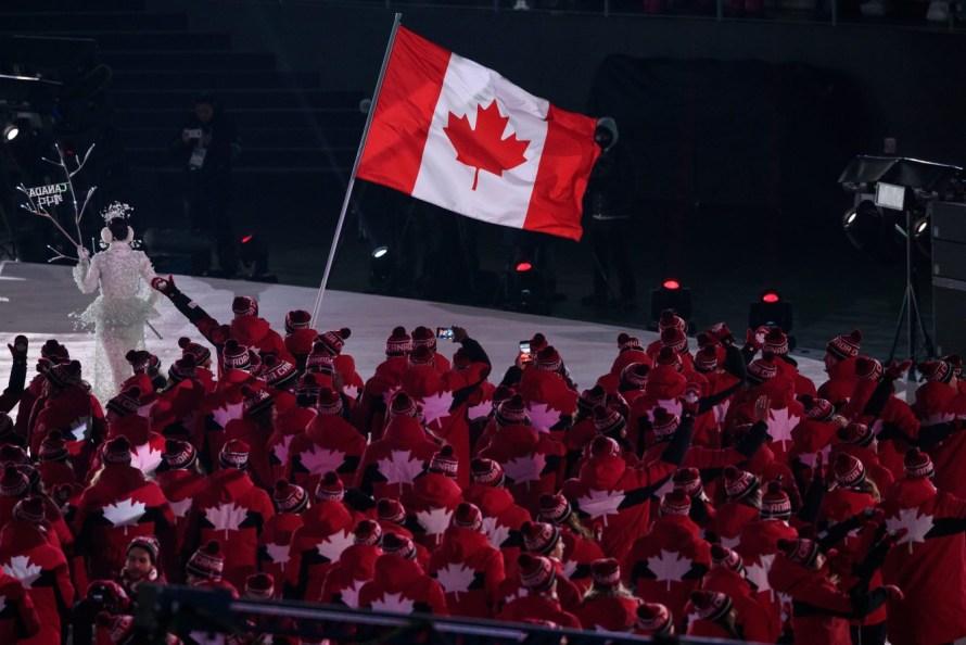 Team Canada Opening Ceremony PyeongChang 2018