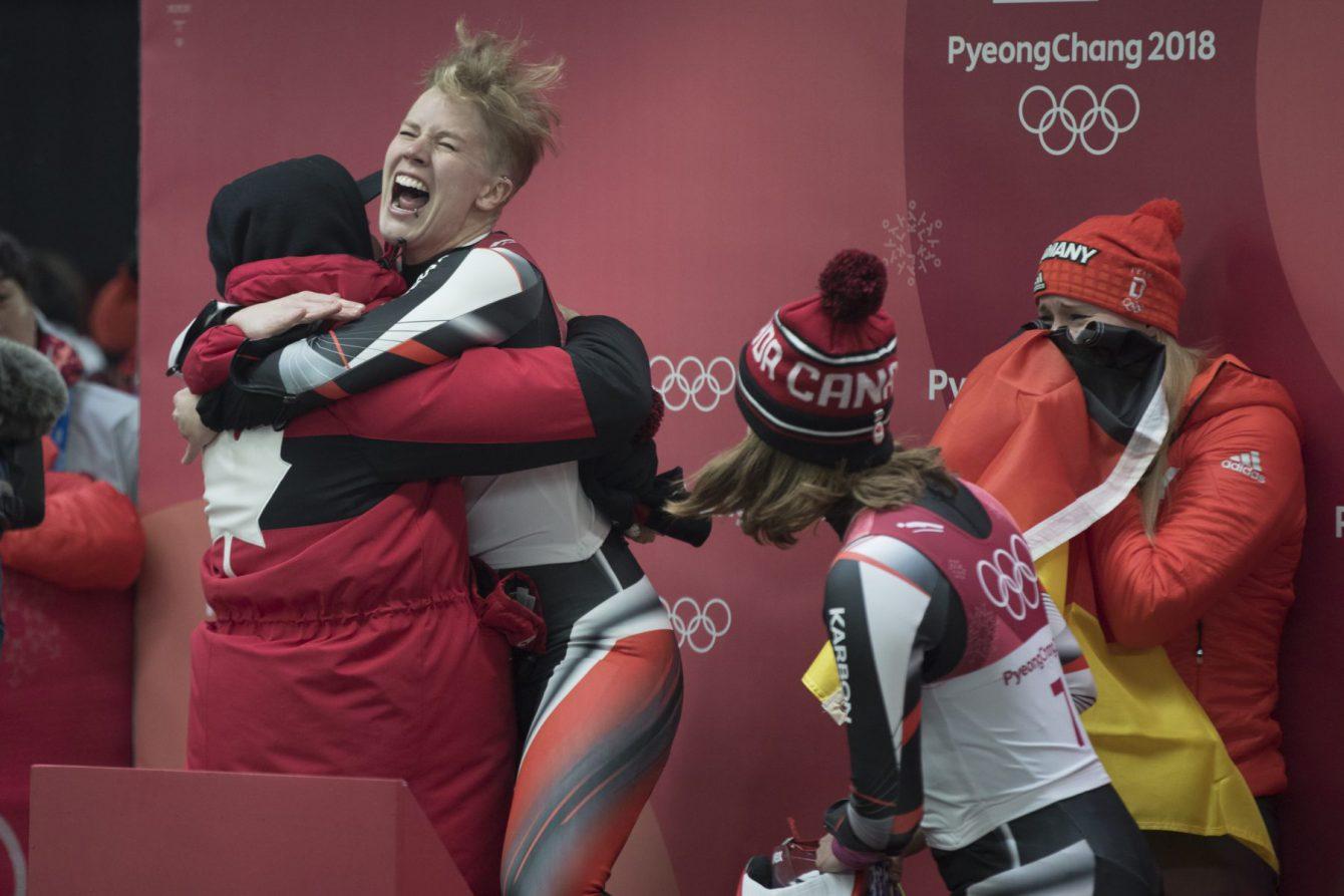 eam Canada Alex Gough PyeongChang 2018 reax