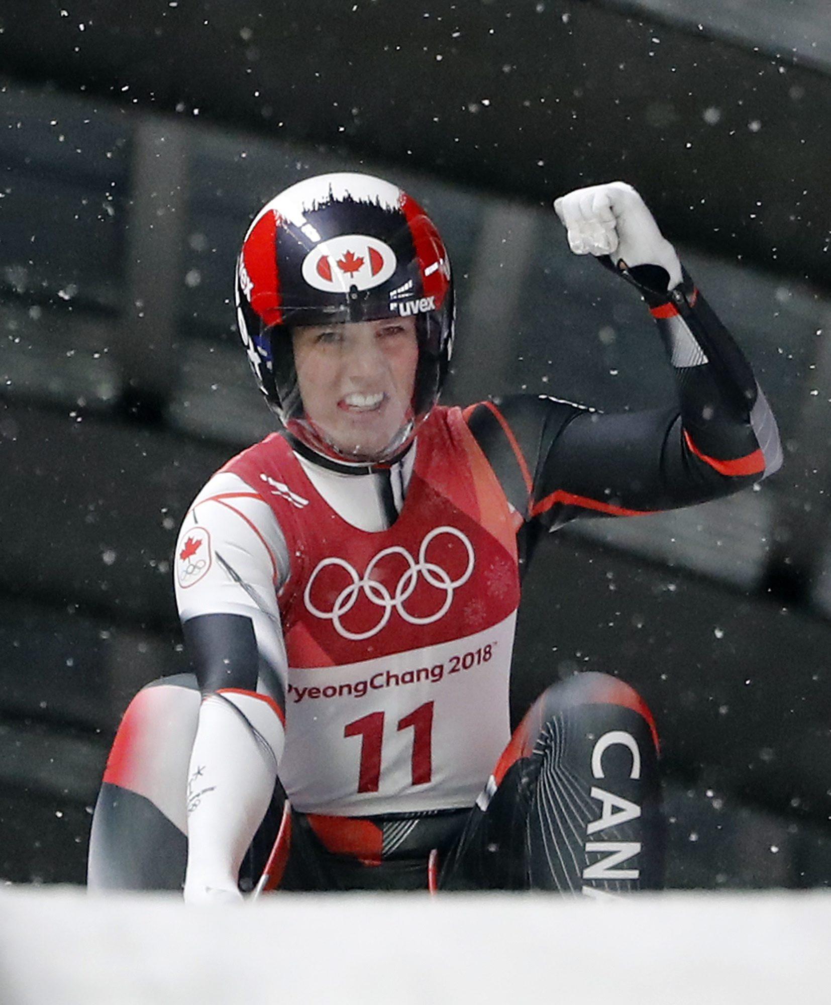 Team Canada Alex Gough PyeongChang 2018