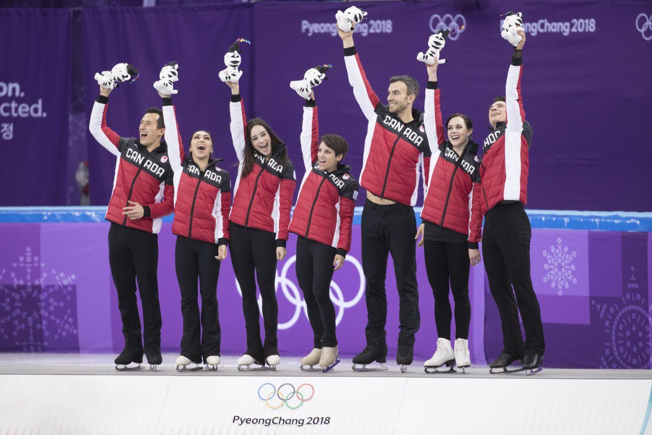 Team Canada PyeongChang 2018 Figure Skating Team gold