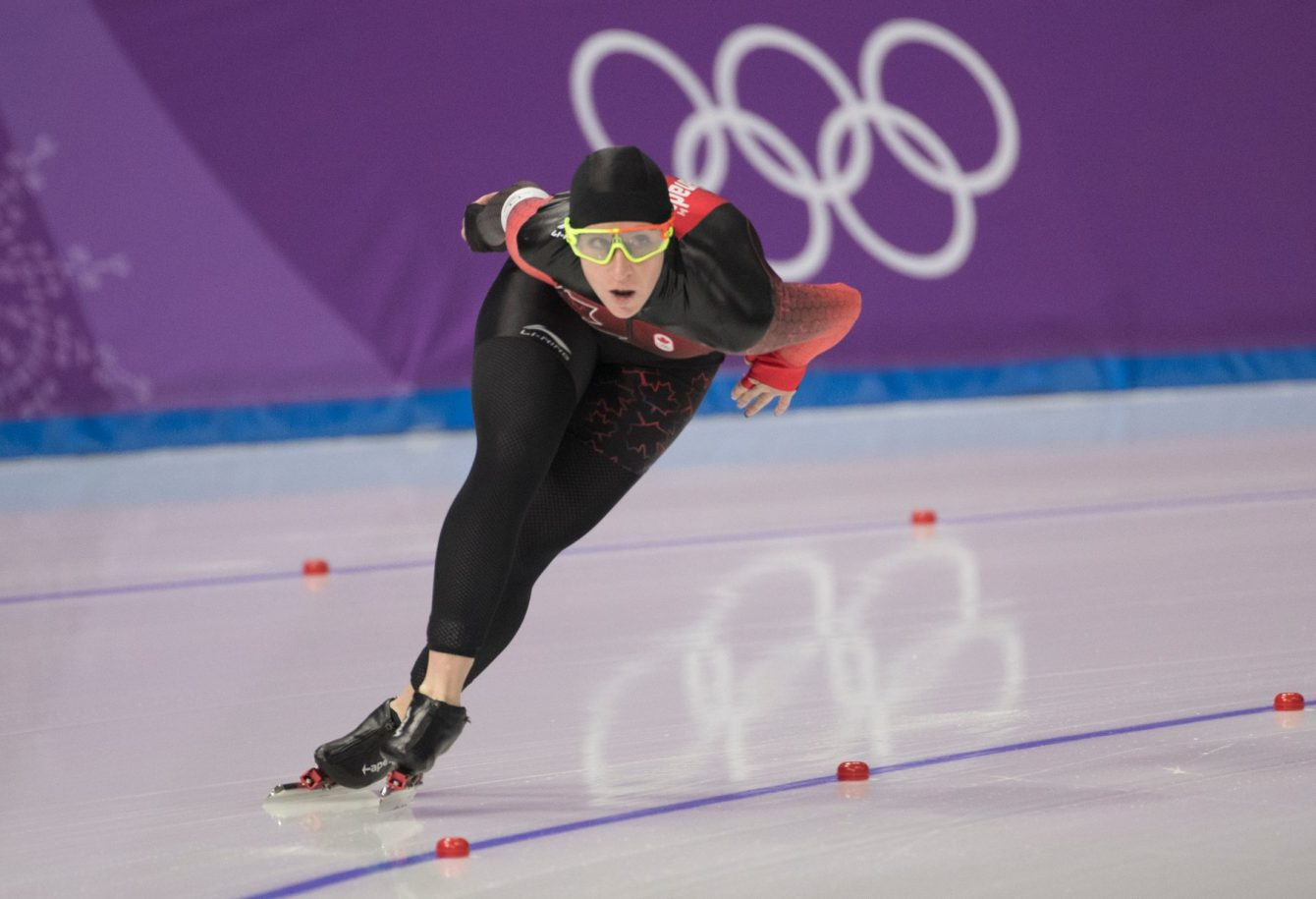 Team Canada Ivanie Blondin PyeongChang 2018 5000m