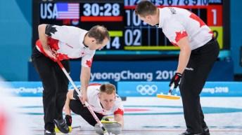 Team Canada Marc Kennedy PyeongChang 2018 vs USA