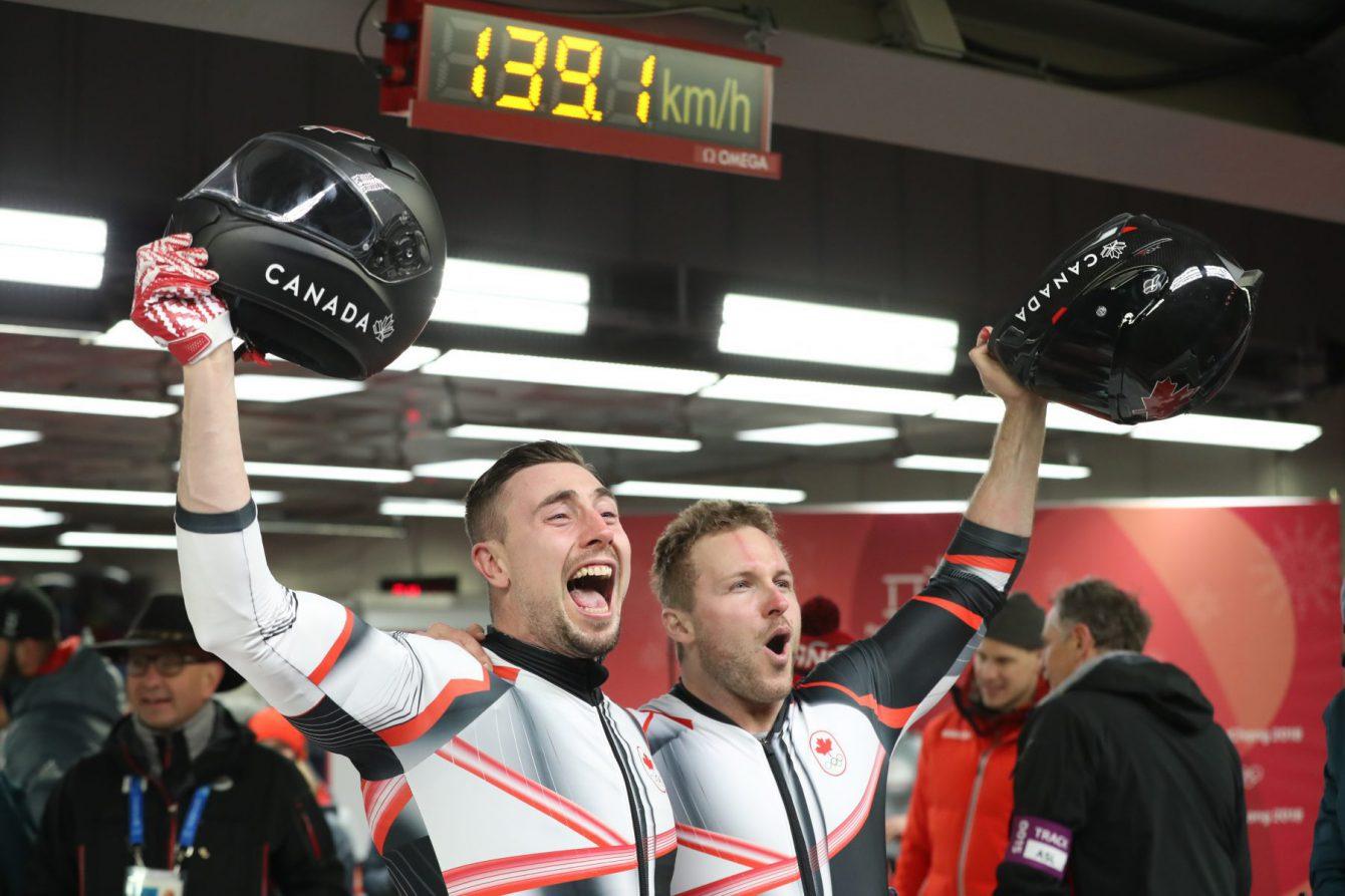 Team Canada Kripps Kopacz PyeongChang 2018 two-man gold