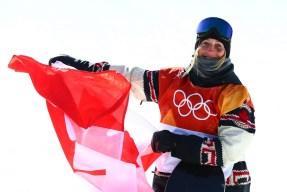 Team Canada PyeongChang 2018 Laurie Blouin Snowboard slopestyle silver