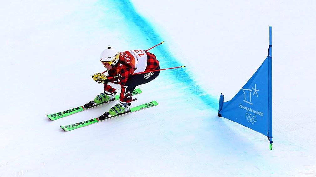 Team Canada Marielle Thompson PyeongChang 2018 seeding run