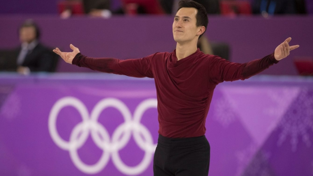 Chan closes competitive career on Olympic ice